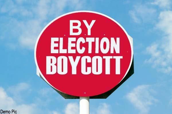 dharamshala by election boycott