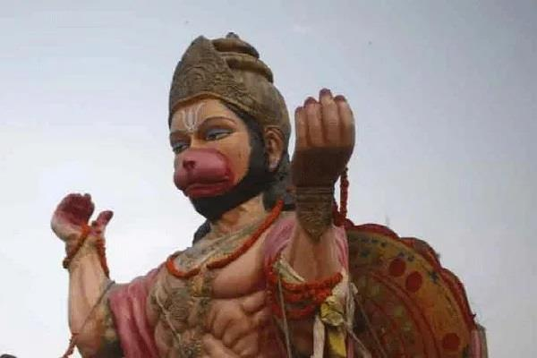 lord hanuman  in custody of bihar police