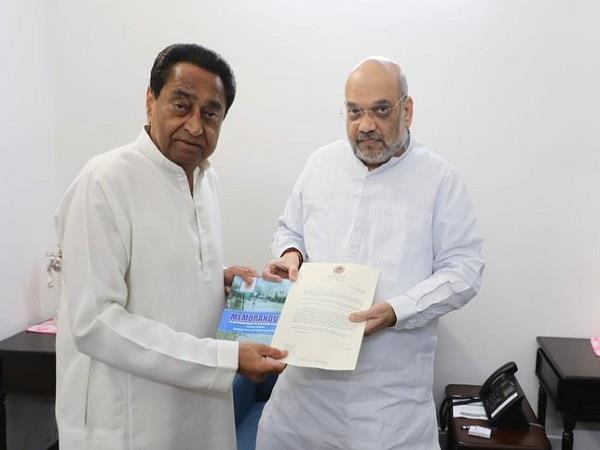 cm kamal nath met home minister amit shah