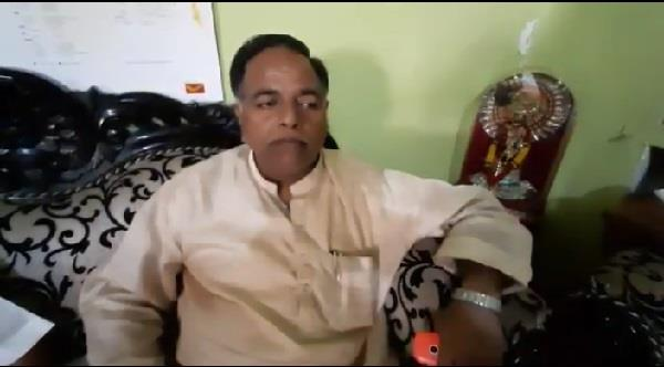 bjp district president attacked in up bikers showered bullets