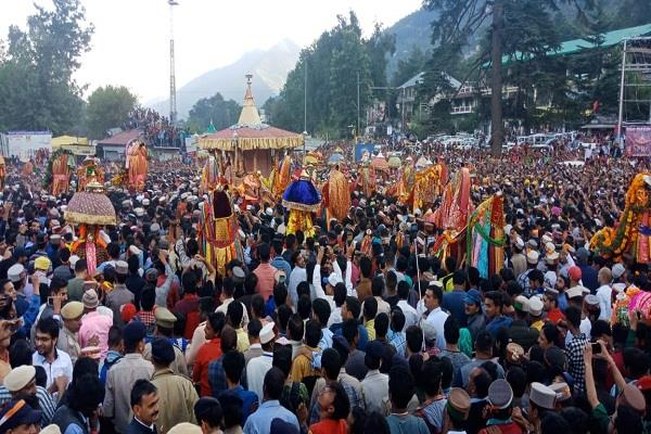 international kullu dussehra begins with lord raghunath rath yatra