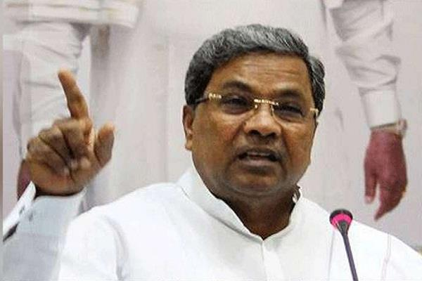 modi does not have time to visit flood affected karnataka siddaramaiah