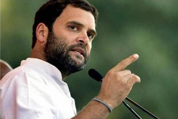 rahul to start campaigning in maharashtra with rally in dharavi