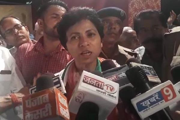 haryana vis election bjp splits and ruins state shailaja