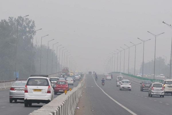 delhi air in bad category for third consecutive day