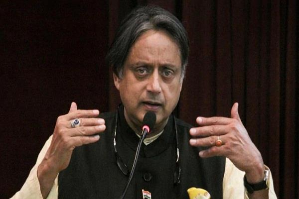 tharoor s letter to pm modi mind should not become a matter of silence