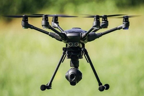 pakistani drone showing across the border will be destroyed in minutes