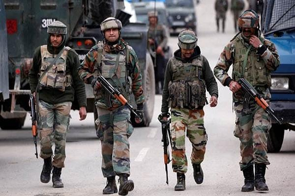 orange alert on army camps in jammu and kashmir