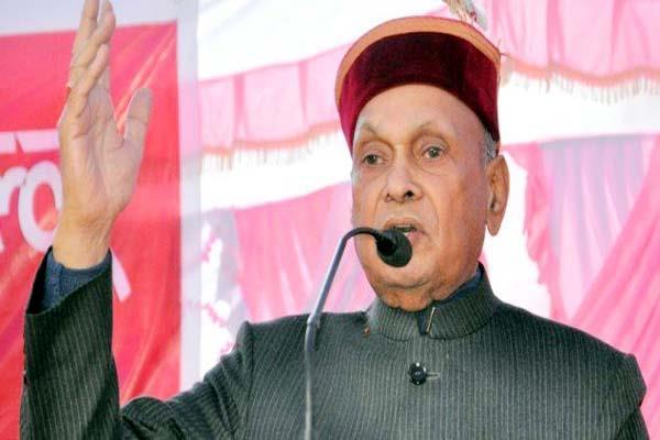 dhumal target on congress
