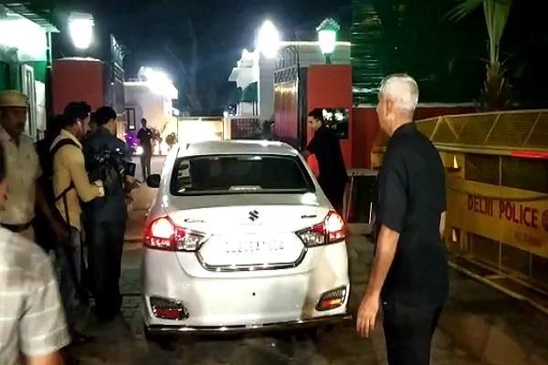 haryana dushyant chautala reaches amit shah s house with anurag thakur