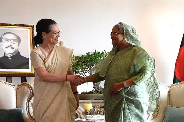 sonia gandhi will join bangladesh independence day
