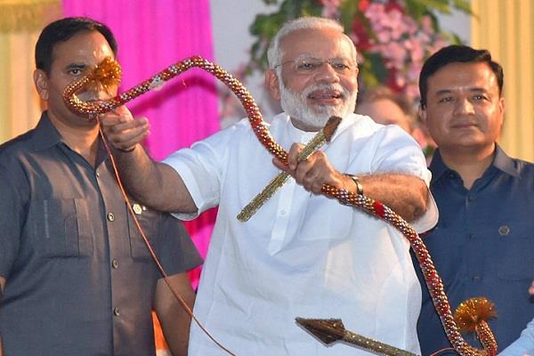 pm modi can participate in dussehra celebrations at dda ground in dwarka