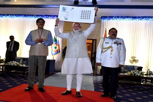 pm released commemorative postage stamp on air force marshal arjan singh
