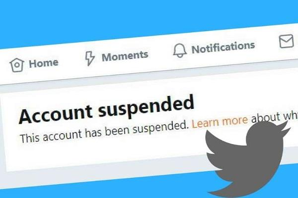 pak complains to twitter about account suspension