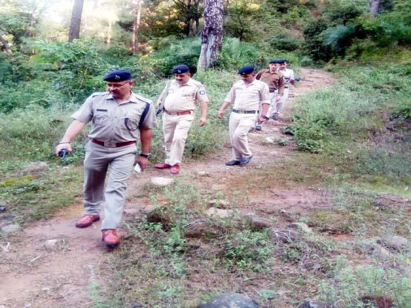 seach operation of police