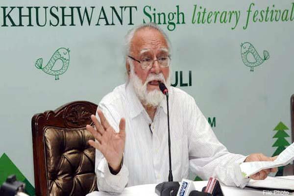 khushwant singh litfest in kasauli