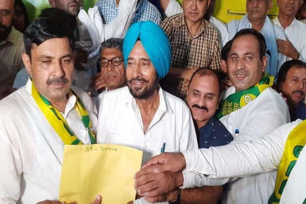 congress devender singh joins jjp gets ticket as soon as he joins party