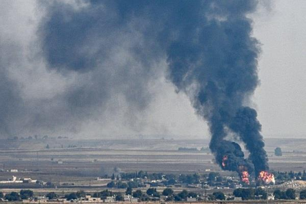 14 civilians killed in northeast syria in turkish led attacks