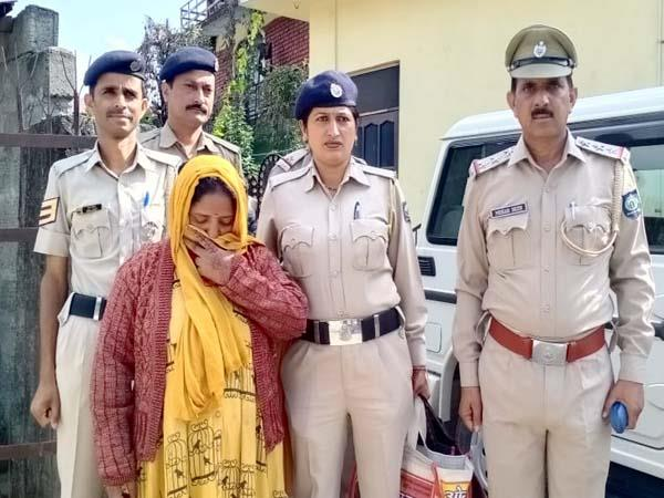 woman arrested with hashish and cash