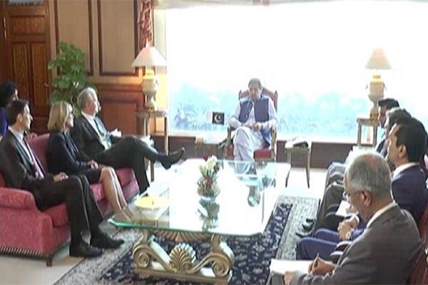 imran told us senator no talks with india till the situation in kashmir changes