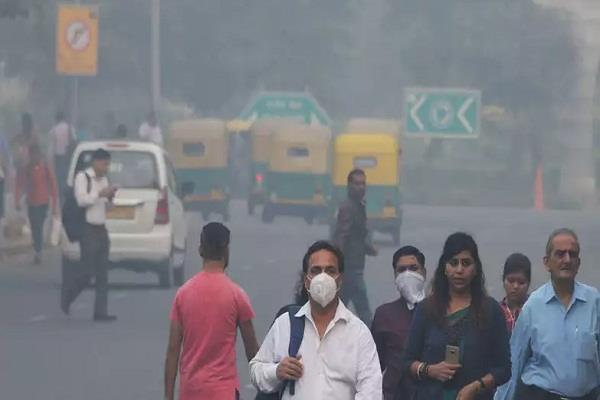 favorable weather reduces pollution delhi breathed a sigh of relief