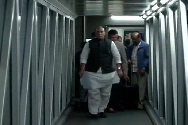 defense minister rajnath returned from tour of france