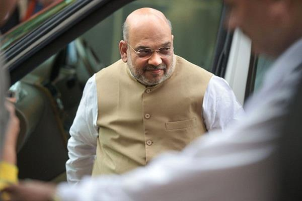 shah will present a report in parliament on president s rule in maharashtra