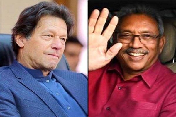 imran khan congratulates sri lankan president gotabaya