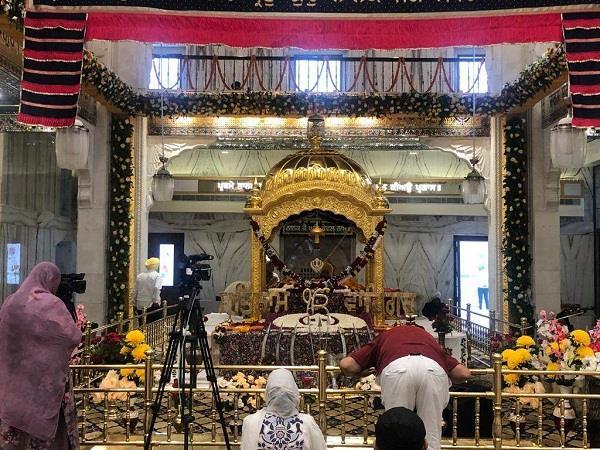 devotees visited gurdwara sri kartarpur sahib