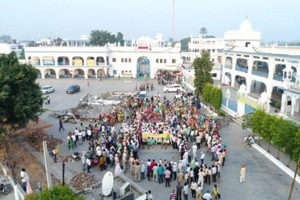 brahm mohindra department put man power for devotees
