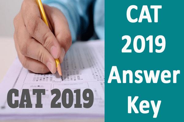 cat 2019 answer key released download from direct link
