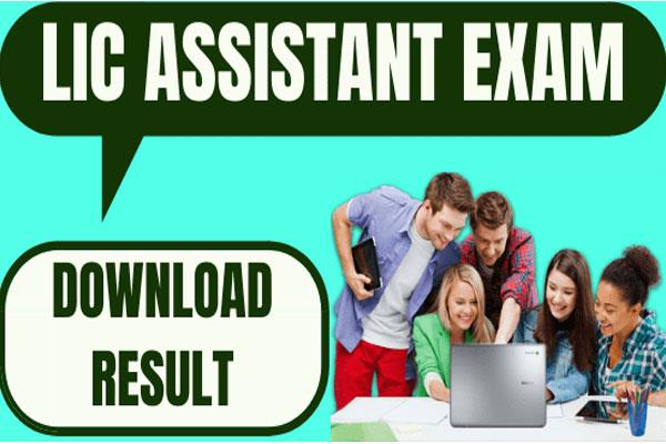 lic result 2019 assistant prelims exam result released