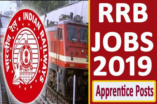 rrb recruitment 2019 for 4103 apprentice posts apply soon