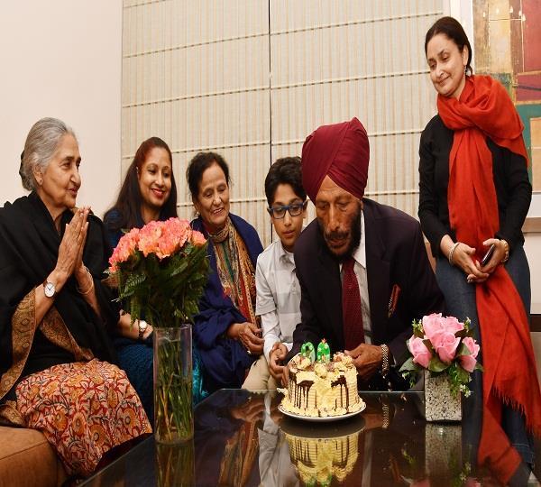 milkha singh birthday celebration
