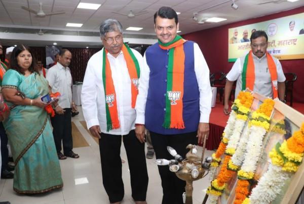 bjp meeting in maharashtra leader said jai shri ram work done