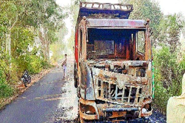 truck filled salt petrol pump driver saved life jumping