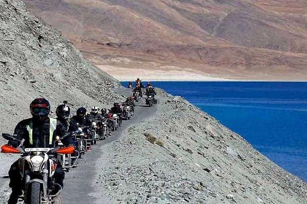 now the wheels of ladakh will not stop even in the snowy season