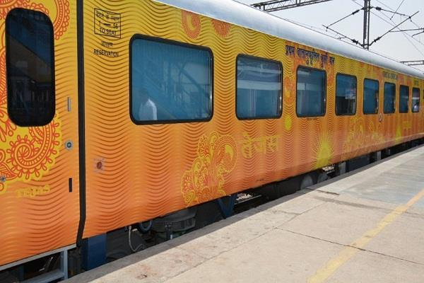 tejas express gained 70 lakhs in october earning rs 17 50 lakhs per day