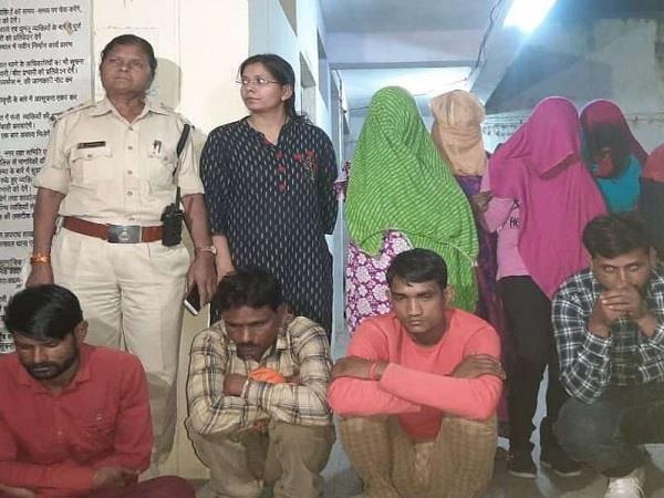 sex racket caught in ujjain