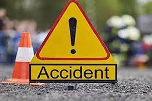 man killed woman injured in horrific road accident