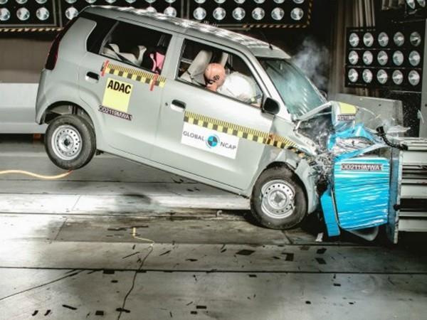wagon r santro fail crash test