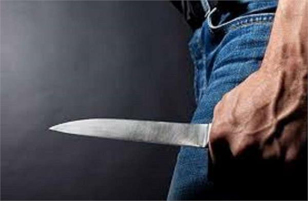 a young man was attacked by a sharp weapon in maloya