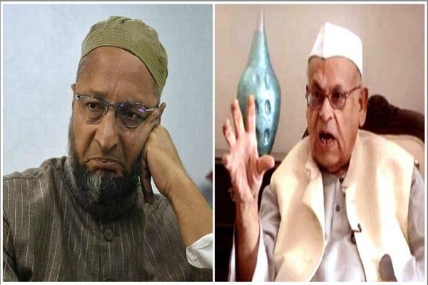 aziz qureshi lashed out at bjp told owaisi bjp agent