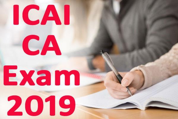 icai ca exam 2019 new dates of canceled examinations released