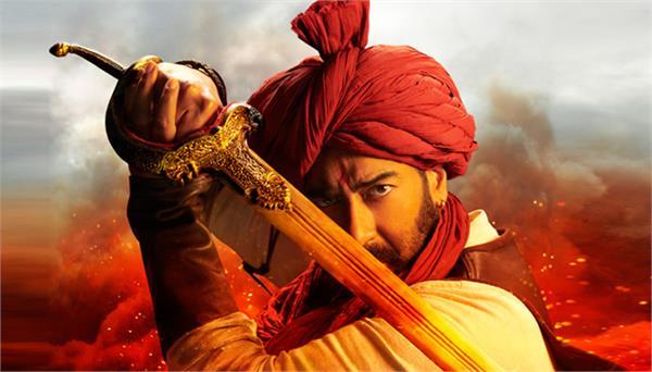 ajay devgan kajol saif ali khan together in tanhaji the unsung warrior