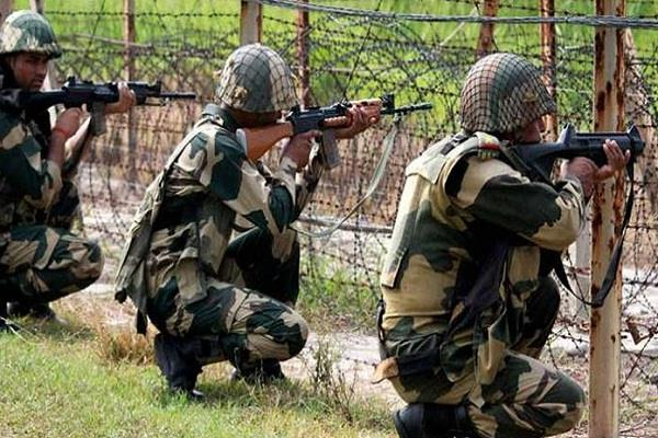 pak fired mortar cease fire poonch district army gave befitting reply