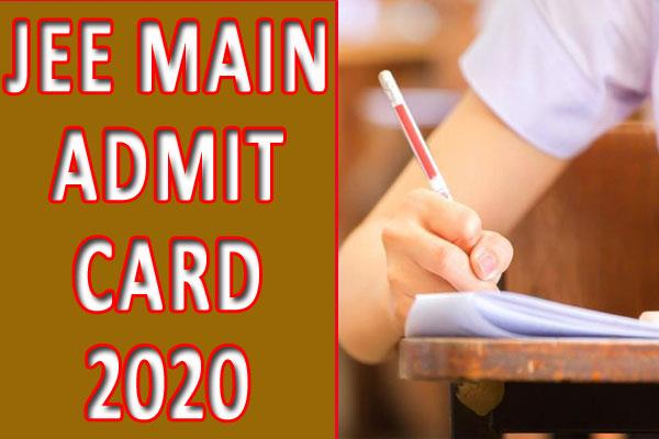jee main admit card 2020 will be released on december 6 how to download