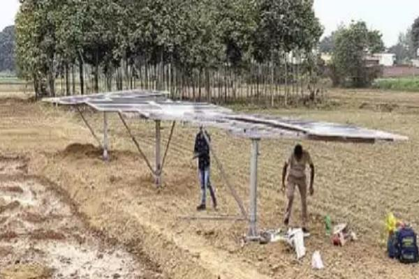 farmers will not worry about electricity and diesel solar energy