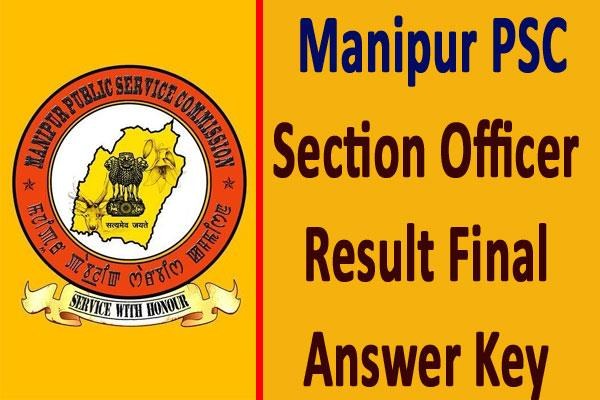 manipur psc answer key and result released check soon
