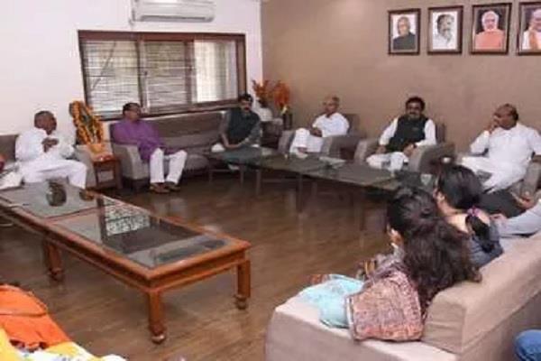 bjp delegation to meet governor to restore membership of mla lodhi